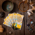 "An oracle reading using ""The Wisdom of Avalon"" Oracle Cards by Colette Baron-Reid."