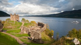Loch Ness in Scotland is a Spiritual Place