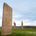 The Stones of Stenness, Orkney, Scotland.